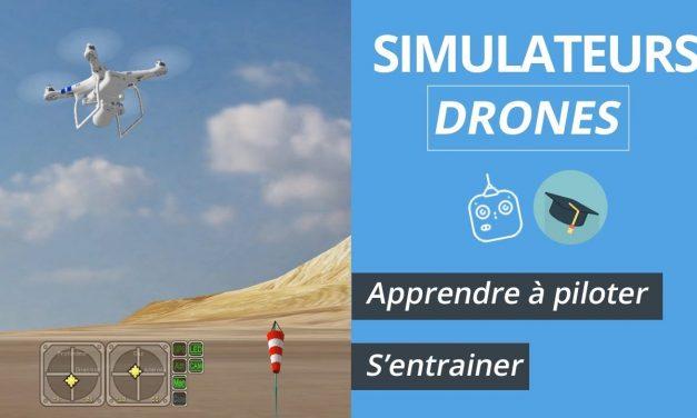 SIMULATEURS DRONES : S'entraîner/apprendre à piloter un drone durant l'hiver