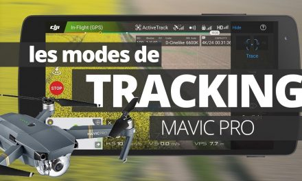 Les modes de vol intelligents du Mavic