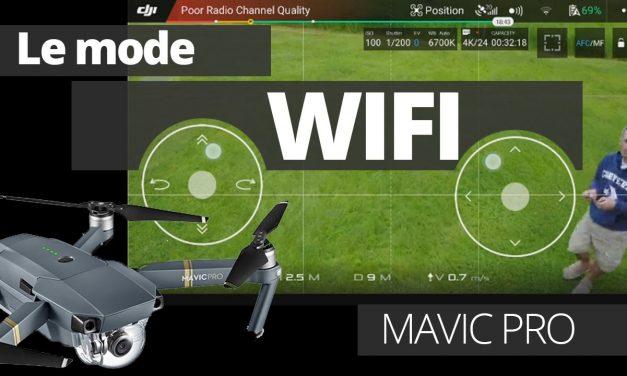 Piloter son Mavic Pro en WIFI