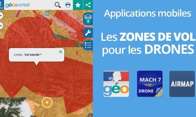 Les applications mobile pour les drones sur mobile