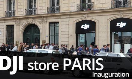 DJI STORE PARIS – Première ouverture du magasin