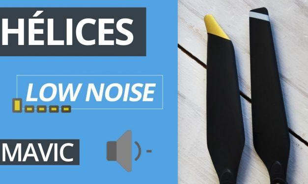 Hélices Low Noise ou faible bruit pour Mavic Pro (1)