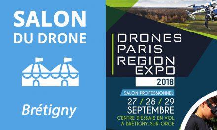 Salon du drone – DRONE PARIS RÉGION EXPO à Brétigny