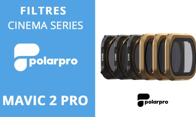 FILTRES ND POLARPRO CINEMA SERIES pour MAVIC 2 PRO
