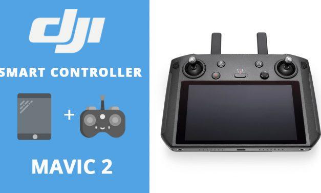 DJI Smart Controller – La radio commande drone avec écran lumineux !