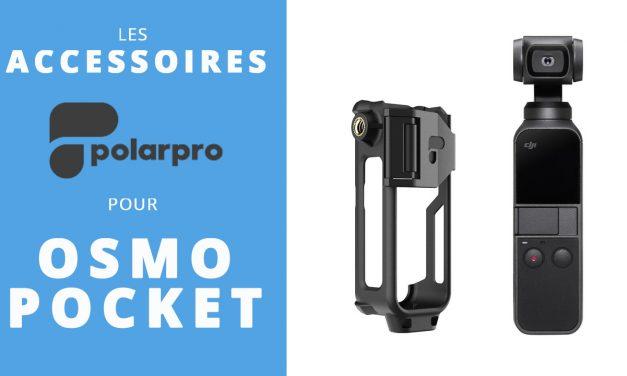 Accessoires et supports POLARPRO pour le DJI Osmo Pocket