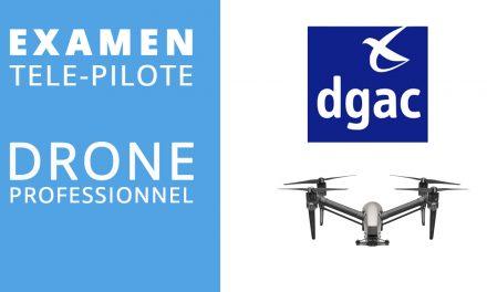 Comment passer l'examen théorique télé-pilote drone professionnel (civil) en candidat libre