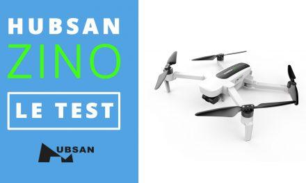 Test du drone HUBSAN ZINO H117S