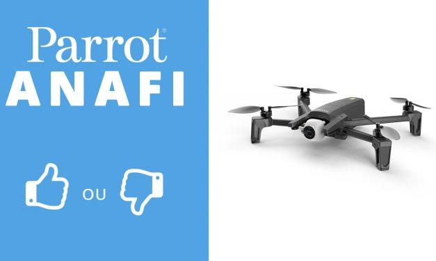 L'ANAFI vaut-il encore le coup en 2019 – Test et essai de ce drone atypique.