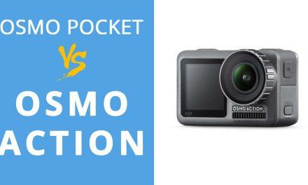 DJI OSMO ACTION : Je vends mon Osmo pocket pour l'acheter !