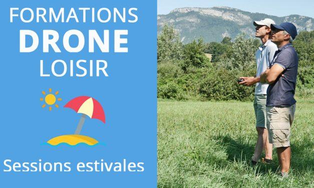Formations drone loisir : Retour sur les sessions d'été