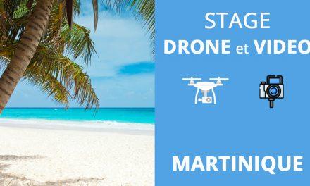 Stage formation drone/photo/vidéo en Martinique