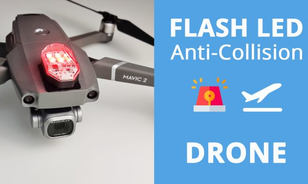 Flash led anti collision pour drone – Strobe light DR-01 ULANZI