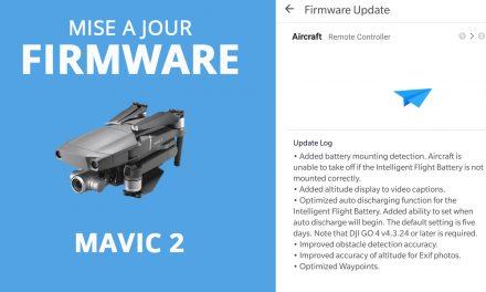 Mise à jour firmware Mavic 2 PRO/ZOOM : 01.00.0510 – Les nouveautés en détail