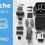 Sacoche pour drone DJI Mavic 2 – POLARPRO «Rugged Case»