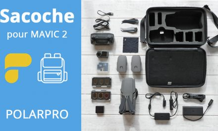 Sacoche pour drone DJI Mavic 2 – POLARPRO « Rugged Case »
