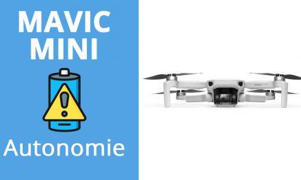 DJI Mavic MINI : Test d'autonomie/batteries/temps de vol