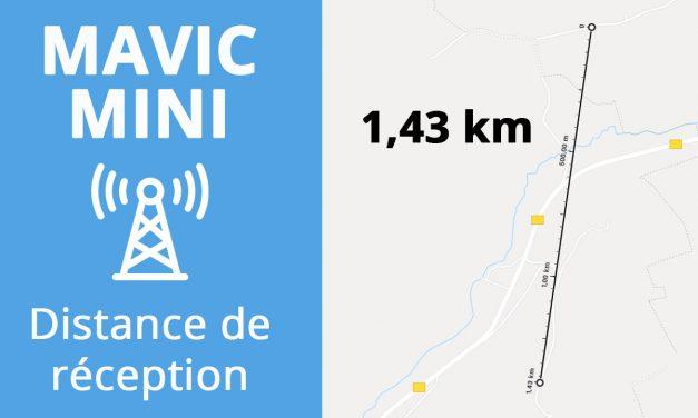 DJI Mavic MINI : Test de portée et distance de réception