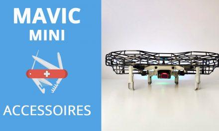 DJI MAVIC MINI : Les accessoires (Rallonge de train, filtres ND, mallette, cage de protection) PGYTECH
