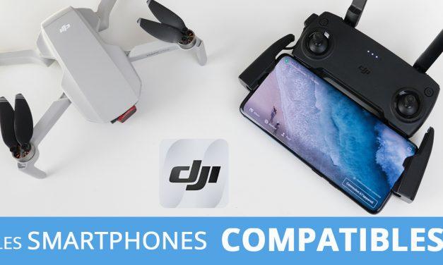 DJI Mavic Mini : La liste des smartphones compatibles et incompatibles