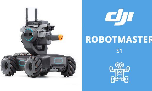 DJI ROBOT MASTER S1 – Le robot intelligent !