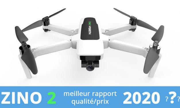 HUBSAN ZINO 2 – Le meilleur rapport qualité/prix pour un drone en 2020 ?