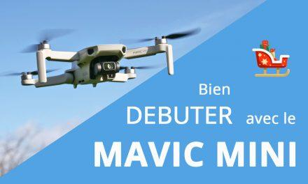 Tutoriel mise en route DJI Mavic Mini et premier vol pour les débutants
