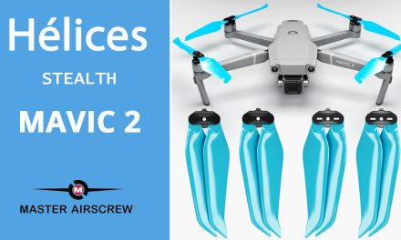 HÉLICES FAIBLE BRUIT pour MAVIC 2 (Pro/Zoom/Enterprise): Master Airscrew – Stealth