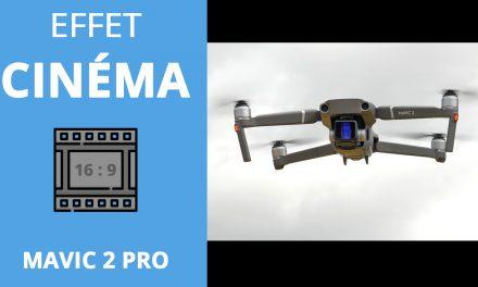 FILTRE ANAMORPHIQUE pour MAVIC 2 PRO : Ajoutez un LOOK CINÉMA à vos vidéos drone !
