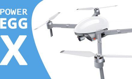 POWER EGG X – Drone caméra VOLANTE atypique !