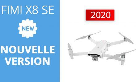 FIMI X8 SE 2020 – Nouvelle version pour ce drone populaire
