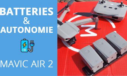 MAVIC AIR 2 : 34 minutes de vol ! Autonomie et batteries en détails.