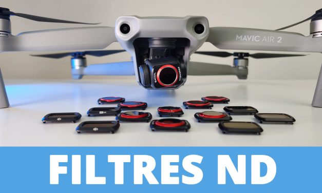 Filtres ND et ND/PL (DJI, Pgytech et Freewell) pour le drone DJI MAVIC AIR 2