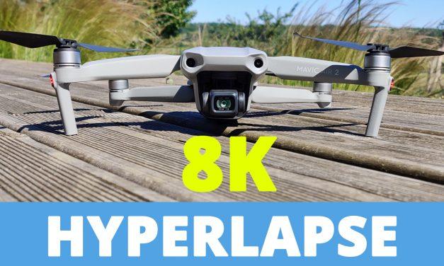 Tuto HYPERLAPSE 8K avec le MAVIC AIR 2