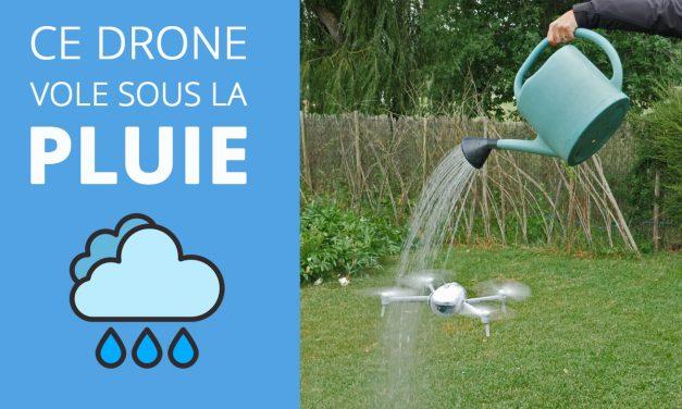 POWER EGG X – Le drone qui vole sous la pluie