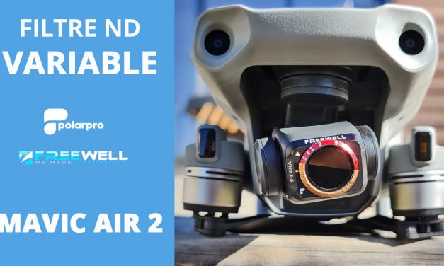MAVIC AIR 2 : L'avantage d'utiliser des FILTRES ND VARIABLES (Polarpro vs Freewell)