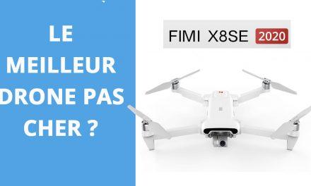 FIMI X8 SE 2020 :  Test et avis – Un drone pas cher à considérer.