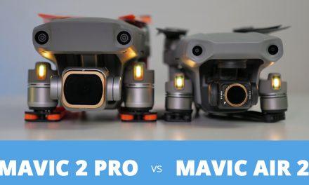 Comparatif DJI Mavic 2 PRO face au DJI Mavic Air 2