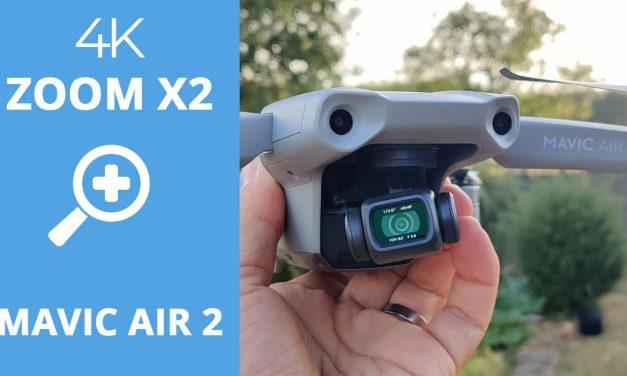 Mise à jour MAVIC AIR 2 (Firmware V01.00.0340) : Fonction zoom 4K x2 – Vol améliorés…