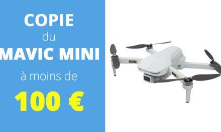 Copie du DJI MAVIC MINI pour moins de 100€, le EACHINE EX 5 en vaut-il le coût ?
