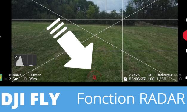 DJI FLY : La fonction radar en détails (Mavic Air 2 et  Mavic Mini)
