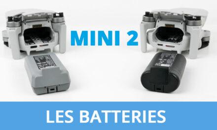 DJI MINI 2 : Quelle autonomie réelle + Conseils pour les batteries