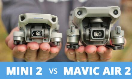 Comparatif DJI Mini 2 face au Mavic Air 2 : Lequel choisir ?