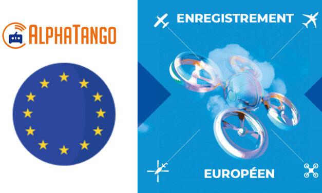 Loi drone 2021 : Enregistrement Alpha Tango exploitant UAS Européen