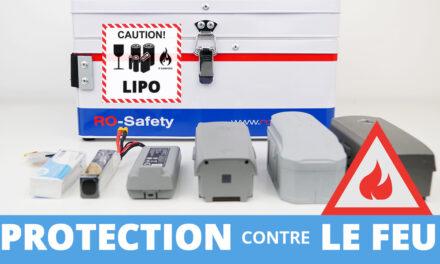 Protection contre le feu des batteries LiPO – ROBBE LIPO SAFE