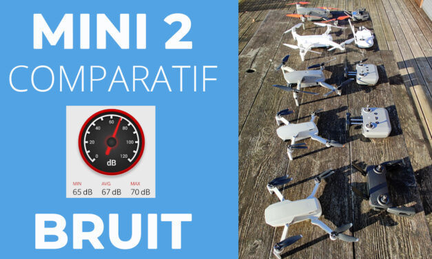 DJI MINI 2 : Comparatif bruit et nuisances sonores (Mavic Mini/Mini2/Mavic Air2/Mavic2Pro/FimiX8SE)