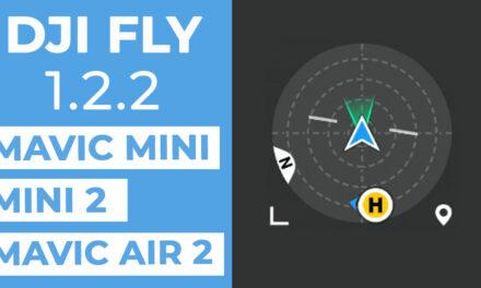 Mise à jour DJI FLY 1.2.2 : Nouveau radar et nouvelles fonctionnalités sur Mavic MINI, Mini 2, Mavic AIR 2