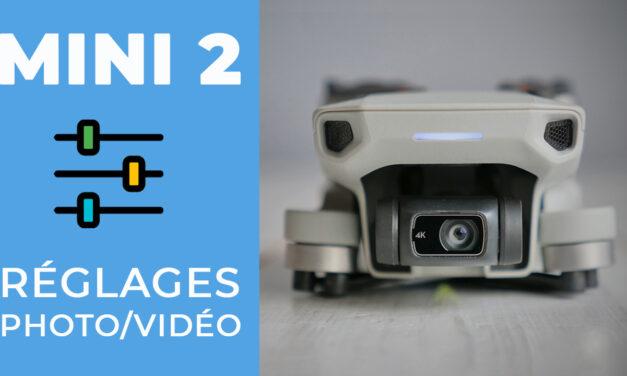 Les meilleurs réglages photo et vidéo pour le DJI Mini 2