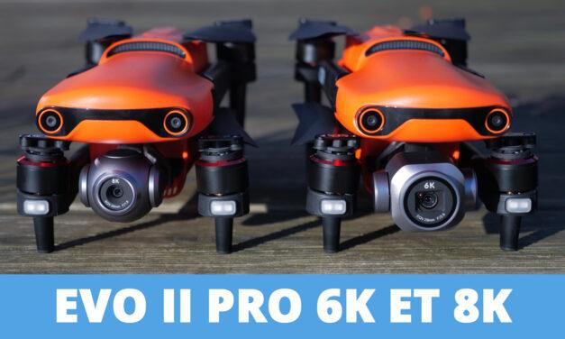AUTEL Robotics EVO II PRO 6k et EVO II 8K : Mieux qu'un Mavic 2 Pro !