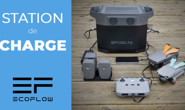 STATION DE CHARGE ECOFLOW – L'idéal pour recharger vos drones et alimenter vos appareils électriques